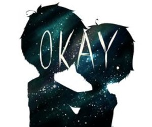 adorable, ok., and couple image