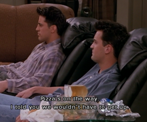 chandler, Joey, and tv show image
