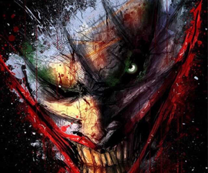 cool art, crazy art, and scary image