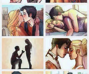 percy and annabeth and percabeth image