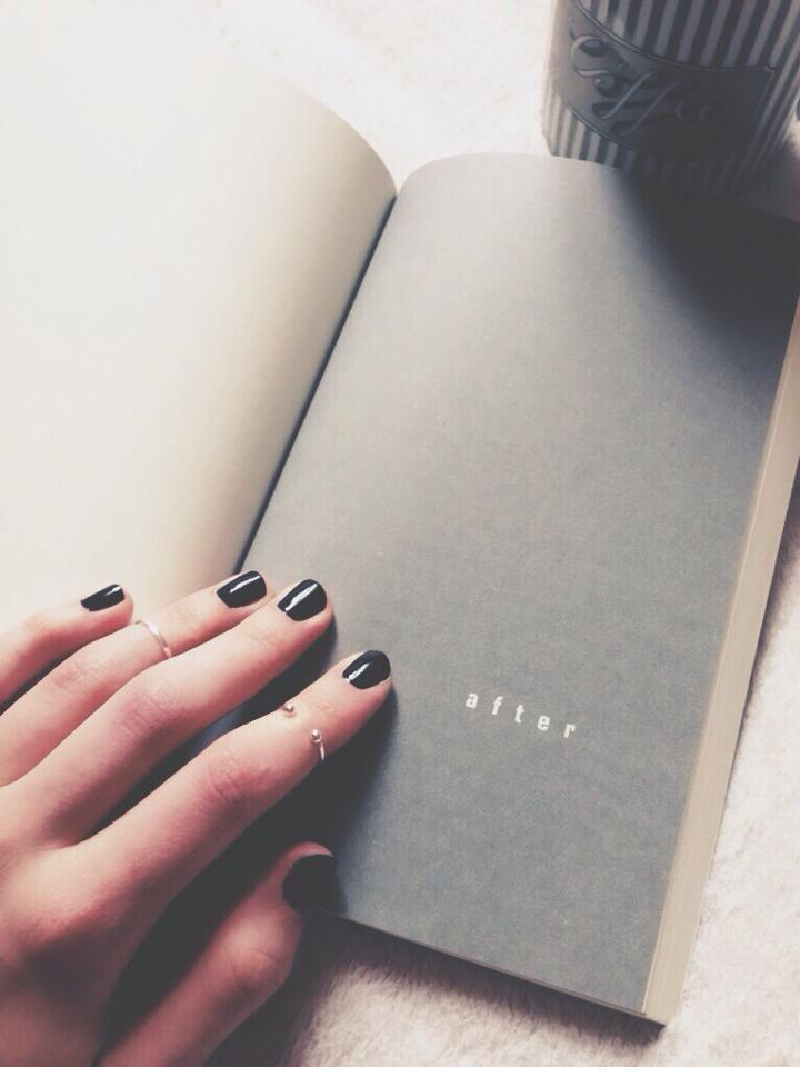 book, after, and john green image