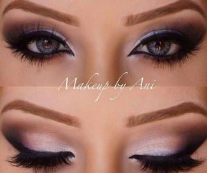 beautiful, makeup, and eye makeup image
