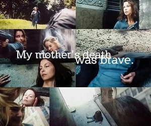 divergent, death, and mom image