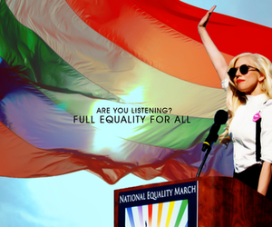 Lady gaga, gay, and equality image