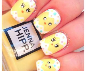 nails, nail art, and easter image