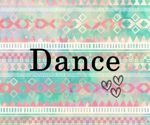 dance, blue, and heart image