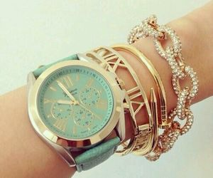style, accessories, and gold image
