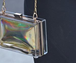 fashion, hologram, and holographic image