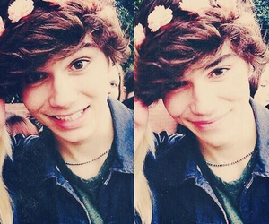 union j, george shelley, and flowers image