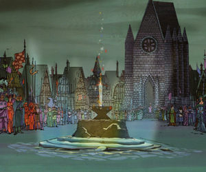 the sword in the stone, disney concept art, and animation backgrounds image