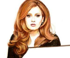 Adele, art, and music image