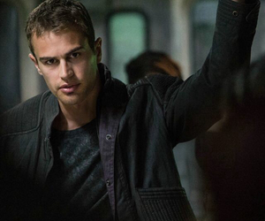 divergent, four, and theo james image