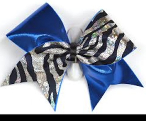 blue, bow, and bows image