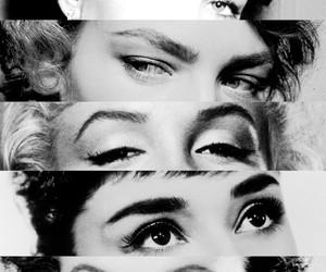 audrey, eyes, and audrey hepburn image