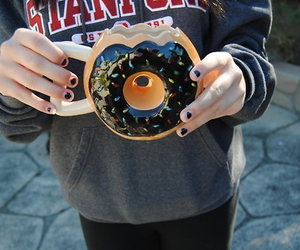 food, donuts, and tumblr image