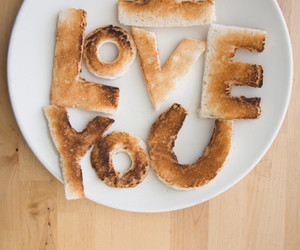 love, food, and I Love You image
