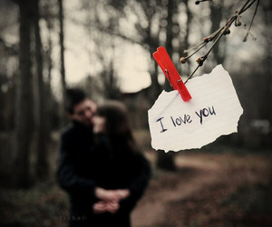 love, couple, and I Love You image
