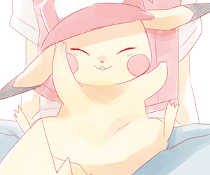 anime, light, and hat image