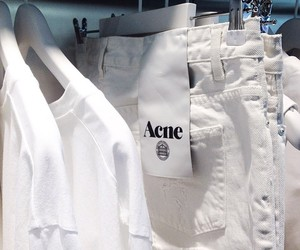 acne, fashion, and white image