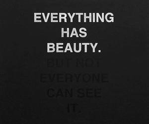 beauty, quote, and everything image