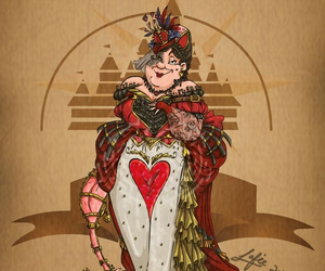 disney, steampunk, and alice in wonderland image