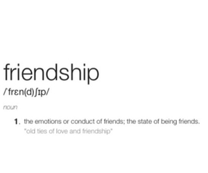 definition, friendship, and noun image