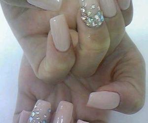 nails, cute, and pink image