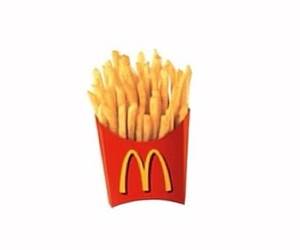 fries, McDonalds, and hipster image