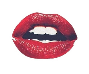lips, red, and transparent image