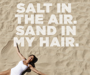 sand, air, and hair image