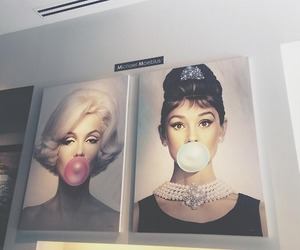 audrey, bubblegum, and marilyn image