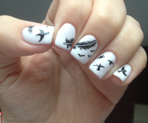 nails, perfect, and white image