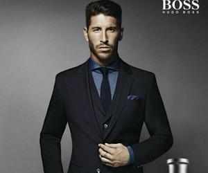 sergio ramos, real madrid, and boss image