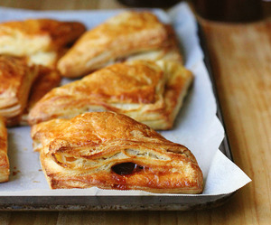apple, turnover, and puff pastry image