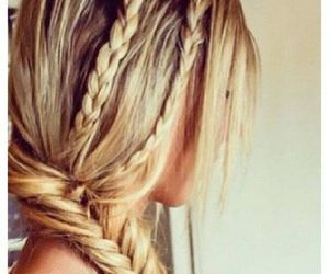 girls, hair style, and wow image