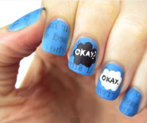 nails, the fault in our stars, and okay image