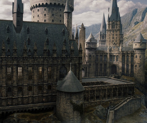 beautiful, harry potter, and castle image