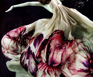 dress, model, and water image