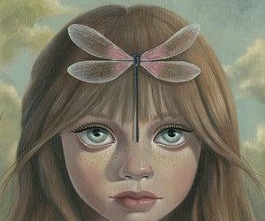 girl, ana bagayan, and eyes art image