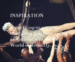 her, inspiration, and P!nk image