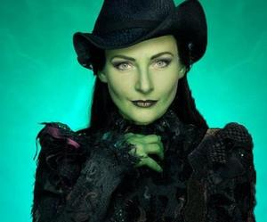 musical, wicked, and elphaba image