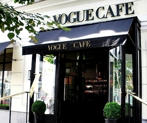 vogue, cafe, and vogue cafe image