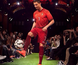 cr7, portugal, and sport image