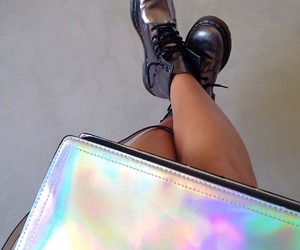 grunge, shoes, and bag image