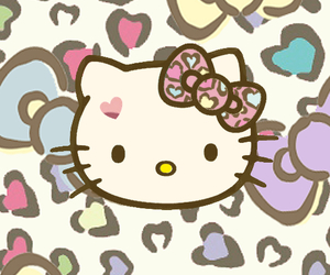 wallpaper and hello kitty image