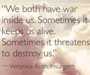 quote, war, and destroy image