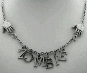 zombie and necklace image