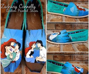 arial, hand painted, and disney artwork image