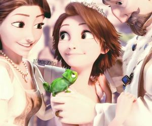 disney, Queen, and raiponce image