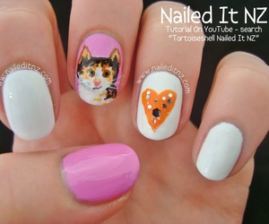 cat, cat lady, and girly image